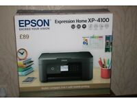 EPSON Expression Home XP-4100 printer/scanner hardly used
