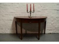 Georgian mahogany desk (DELIVERY AVAILABLE)