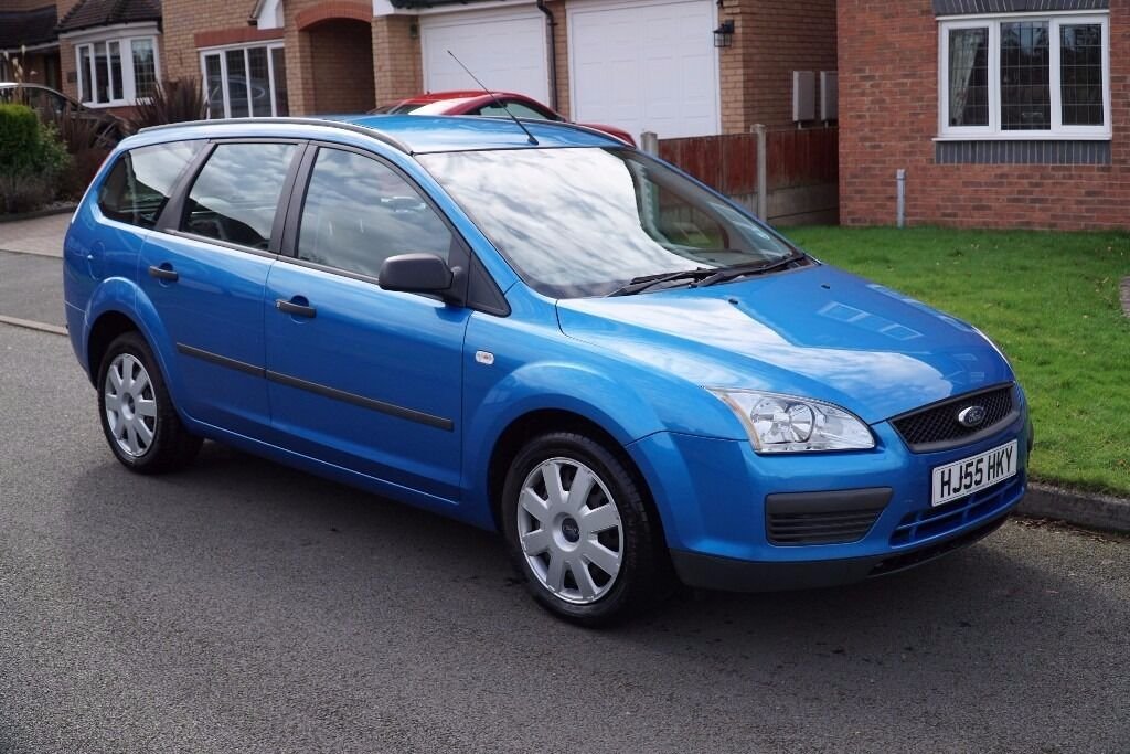 ford focus estate 2005 1 6 lx with 62 000 miles in. Black Bedroom Furniture Sets. Home Design Ideas