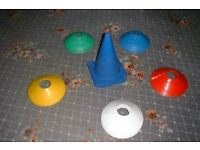 sports cones/markers