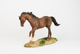 Royal Doulton horse figurine. Super detail capturing the free spirit of the horse. Made in England