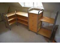 Modular Drawers and Shelving unit