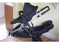 Britax B-Dual Double Pushchair in great condition. RRP £550