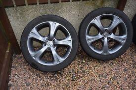 """Honda Blaze 19"""" Alloy Wheels Set of 4 (245/45/19)"""
