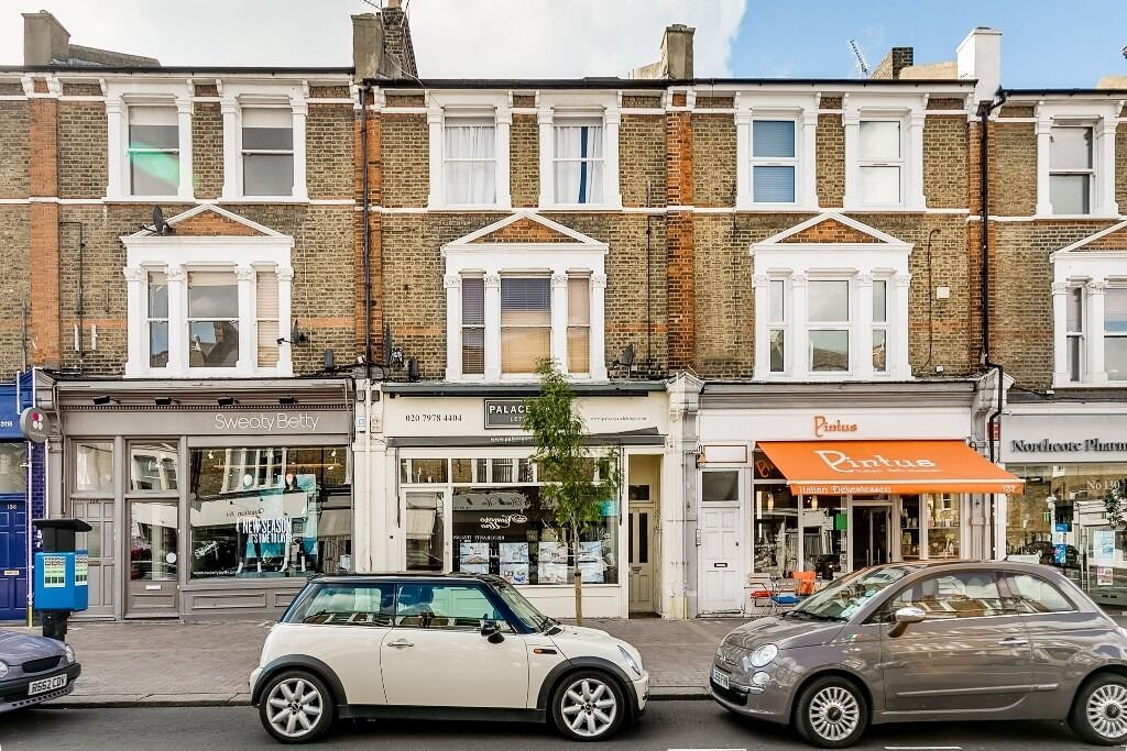 Spacious 1 bed on Northcote Road