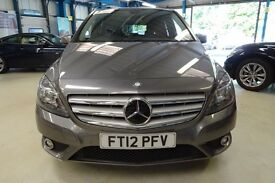 Mercedes B180 CDI BLUEEFFICIENCY SE (tenorite grey metallic) 2012