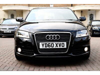 2010 Audi A3 Sportsback S-line Sports 5dr --- Manual --- Part Exchange Welcome --- Drives Good