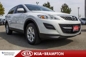 2011 Mazda CX-9 GS. 7-PASS. ROOF. LEATHER. BLUETOOTH. PWR SEAT