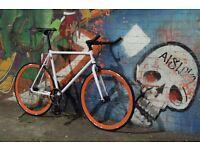 GOKU CYCLES Steel Frame Single speed road bike TRACK bike fixed gear fixie racing bike F4Z