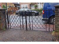 Wrought iron garden gates - FREE!