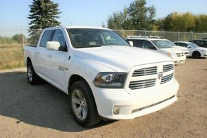 2013 RAM 1500 Sport 4X4, Leather, NAV, Power Sunroof, Towing Pac