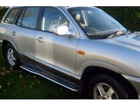 SANTA FE STAINLESS STEEL HIGH QUALITY RUNNER BOARDS MAY FIT OTHER 4X4 SOLID