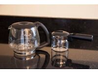 Coffee jar and espresso carafe