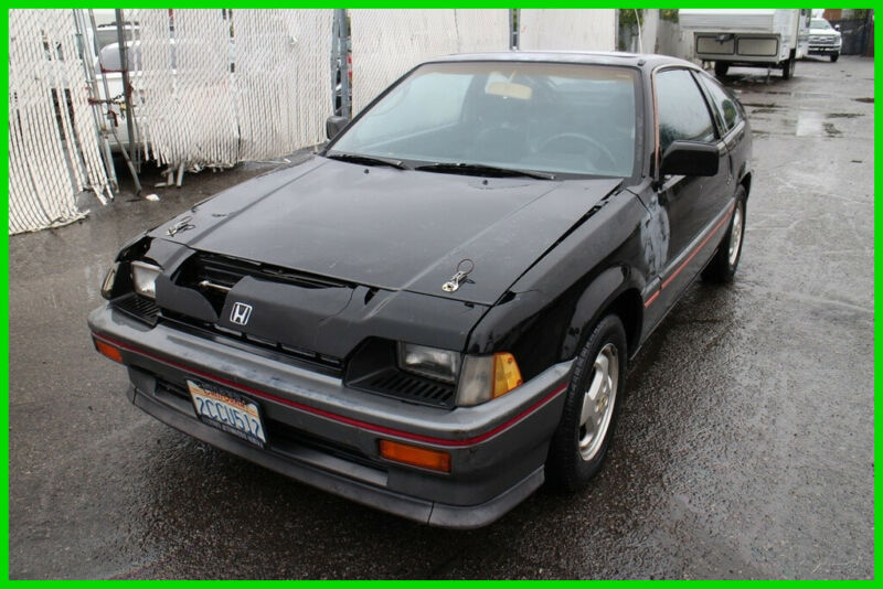 Honda Crx 1985 For Sale Exterior Color Black