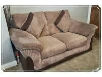 DFS Langley 2 Seater Sofa & Armchair