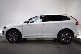VOLVO XC60 2.4 D5 R-DESIGN LUX NAV AWD [NAV] 5d AUTO 212 BHP (white) 2014