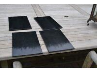 Black Granite place mats