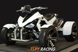 SPY F3-350 New 2018 Euro 4, White, Road Legal Quad Bikes, Spy Racing, Spyracing