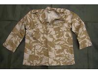 NEW - Rare - Desert Pattern BDU Lightweight Jacket (US Style british camo made for Kuwait Military)