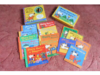 Maisy mouse collection of 14 books, 1 tell the time book and board game