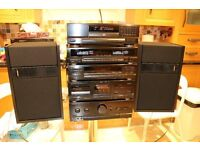 5 Piece Kenwood Stack Hifi System - Great condition - Can see working and full demo before purchase