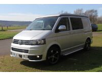 VW T5 TRANSPORTER CAMPER VAN NEW CONVERSION NO VAT REMAPPING AVAILABLE 4 BERTH
