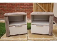 Lovely Brand New!!! Bedside Drawers x2
