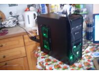 Brand New Custom Gaming PC Athlon X4 845 3.5GHz Quad Core 8GB RAM 1TB NVIDIA GPU Windows 10