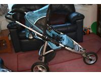 Quinny Speedi SX Jogging Buggy/Pushchair/Pram with Carrycot