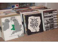 "400 x 7"" Vinyl Recods Collection... Rock / New Wave / Punk / Indie / Metal"