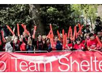Volunteer at the London Marathon with Team Shelter!