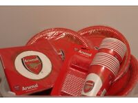 Arsenal FC Tableware Party Pack for 24