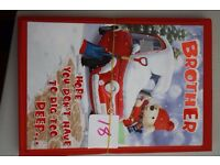 xmas card bundles of 12's ideal for car booters, market stalls , table tops etc