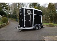 Ifor Williams HB506 horse box year 2011, Mk 2. alloy front, excellent condition throughout.