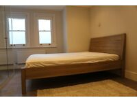 IKEA Nyvoll double bed
