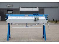 Segmental sheet metal folders Z20x1500 with Rollershears
