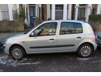 2002 automatic Renault Clio 1.4