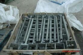 FORMWORK ADJ U HEADS 100mm USED ONCE