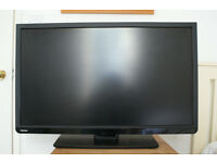 """Toshiba 32"""" LED TV with DVD player. Freeview. Includes controller. Perfect working order."""