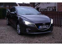 Mazda3 2.2 TD SKYACTIV-D Sport Nav Hatchback 5 doors. Road Tax only £20!!! Very Low Mileage 70777