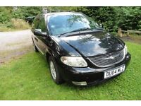 Chrysler Grand Voyager Limited Black 3.3 Petrol Auto 2004 7 seater MPV