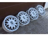 "15"" 4x100 4stud BBS alloys for VW POLO GOLF LUPO AROSA ASTRA CORSA NOVA CIVIC COROLLA SUZUKI SWIFT"