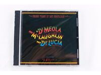 AL DI MEOLA/JOHN MCLAUGHLIN/PACO DE LUCIA - FRIDAY NIGHT IN SAN FRANCISCO (LIVE) - BRAND NEW
