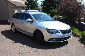 2013 (63) SKODA SUPERB ESTATE ELEGANCE 4x4 - FREE DELIVERY TO ANYWHERE ON THE GB MAINLAND