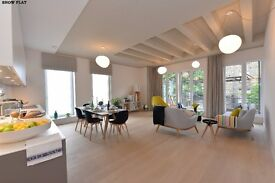 BEAUTIFULLY BUILT TWO DOUBLE BEDROOM HIGH END APARTMENT WITH VIEWS OVER REGENTS PARK