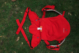 Stokke My Carrier Red - 3-in-1 Front and Back Baby carrier - Like NEW