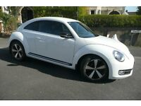 VW Beetle 2.0ltr TDI Sport, full main dealer service history, excellent condition, new front tyres