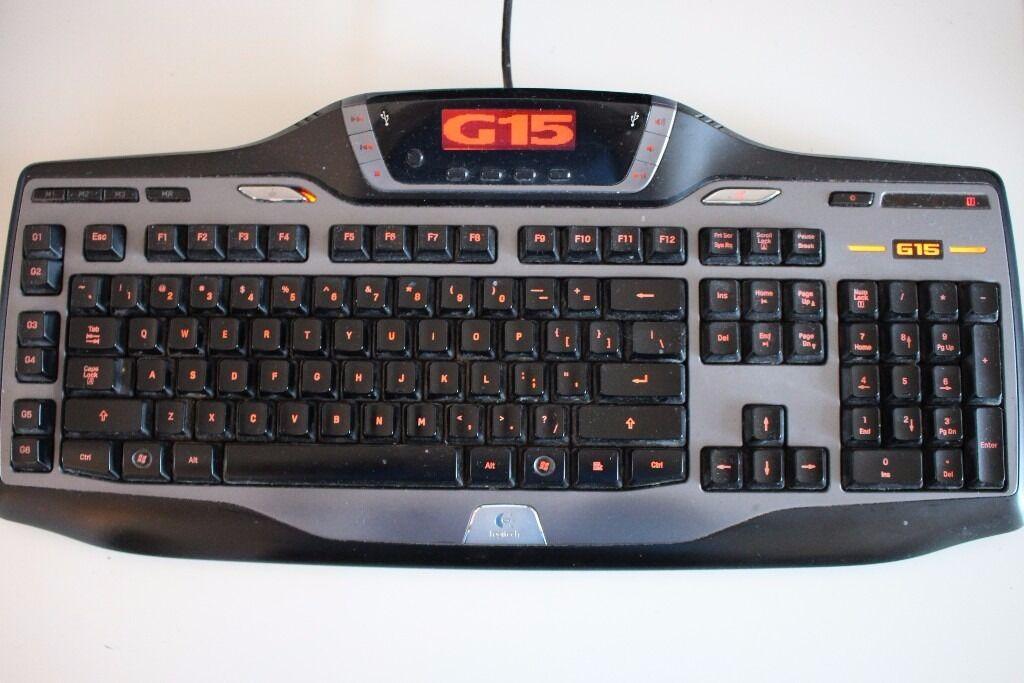 Logitech G15 Keyboard 2nd Gen