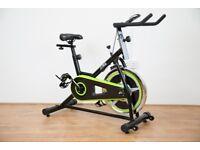 JLL IC200 Green Indoor Cycling Bike - Ex Showroom