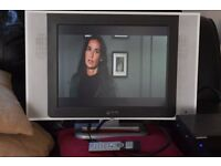 20 INCH FREE VIEW BUILT IN TV/REMOTE CAN B E SEEN WORKING